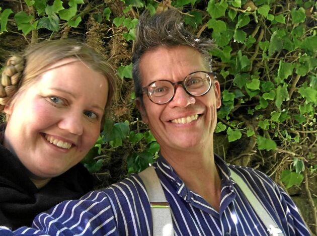 Henrik Andersson och Karin Johansson är nöjda med sin altan.