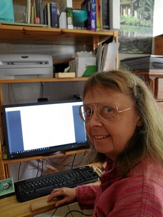 Släktforskaren Margareta Björck, vars morfars far var bror till Karl.