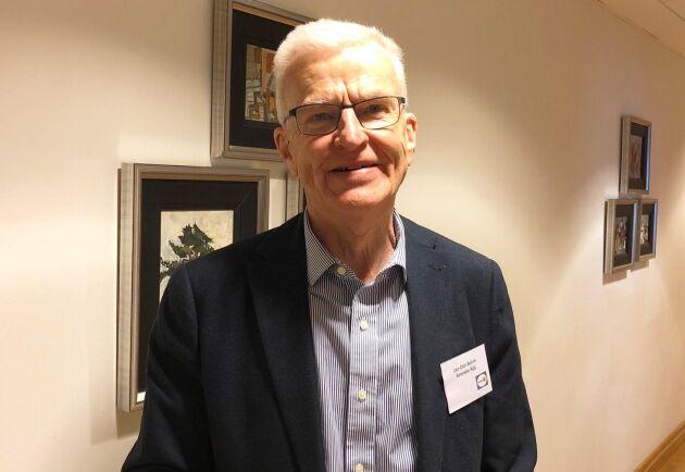 Jan-Olof Bohlin har arbetat i olika delar i äggbranschen hela sitt yrkesliv. Han beskriver situationen för svenska äggproducenter som mycket tuff just nu.