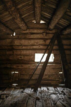 Kokhuset som pappa byggde är borta men boningshuset står kvar.