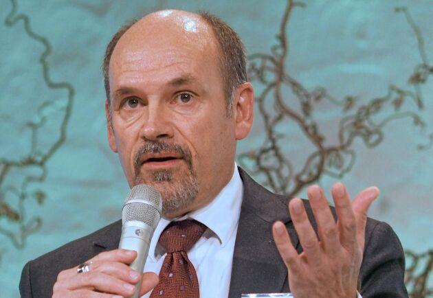 """""""Vi har inte eftersträvat att köpa skog som en del av strategin"""", sa Billerud Korsnäs dåvarande VD Per Lindberg till ATL när delningen av Bergvik aviserades."""