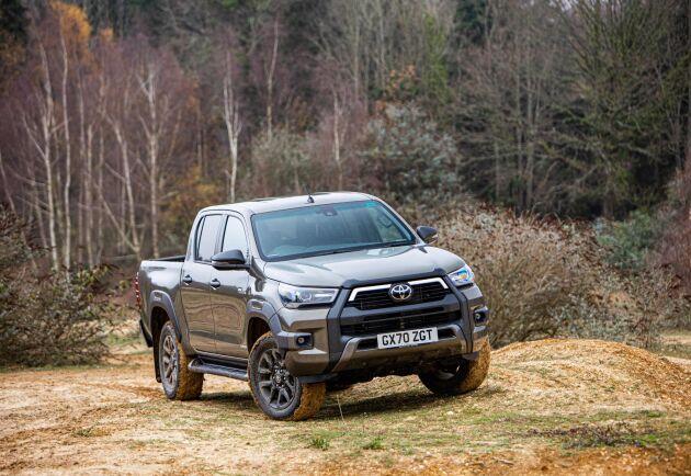 Försäljningen av pickuper gick ned med 56 procent 2020 jämfört med 2019, enligt Bil Swedens statistik.