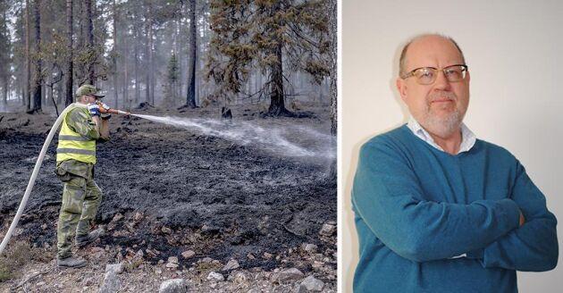 Knut Persson, Ledarskribent, Land Skogsbruk