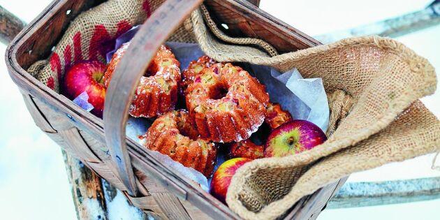 Magiskt god nötkaka med äpple och brynt smör – baka, bjud, njut!