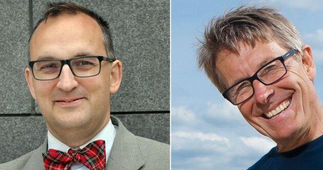 Martin Ragnar och Claes Wernerson vill se gårdsförsäljning i Sverige.