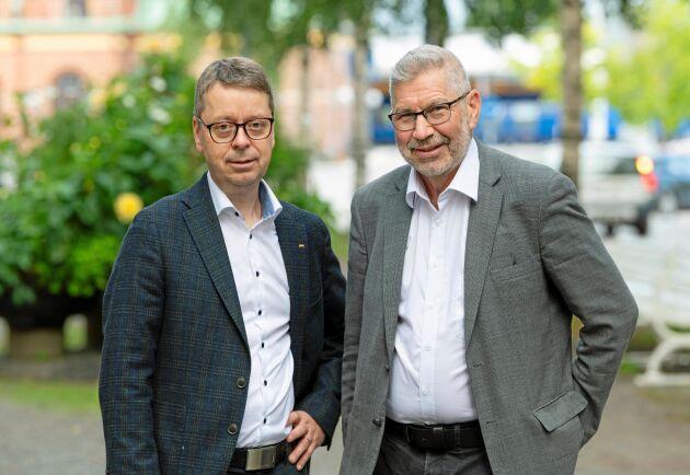 Pär Lärkeryd och Olle Söderström föreslås som vd respektive vice vd vid en sammanslagning av Norra och Norrskog.