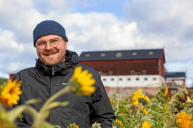 Magnus är sjunde generationen på släktgården Gårdstjärn i Medelpad.