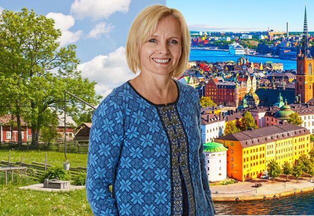 Lands krönikör och bloggare Malin Ackermann.