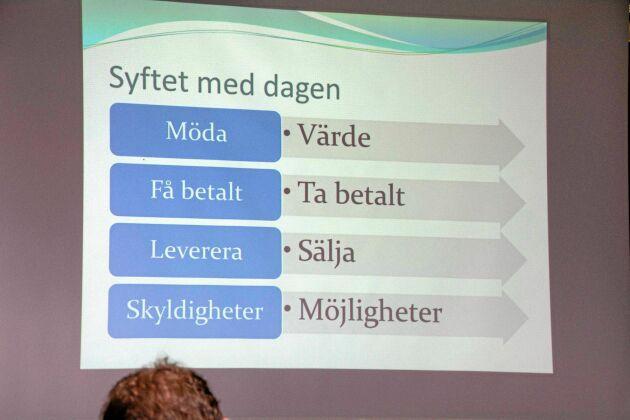 Ett önskescenario presenterat av Sveriges Grisföretagares ordförande Ingemar Olsson.