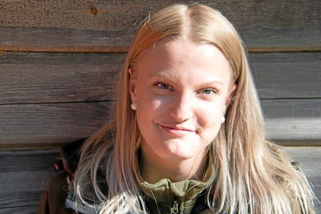 Felicia Jansson, Forshyttan. - För att jag gillar att jaga och det är en hobby som betyder mycket.