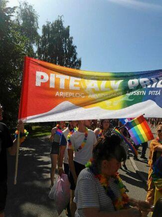 I höst arrangeras även en Pite älv Prideparad i Arvidsjaur av lokala initiativtagare.