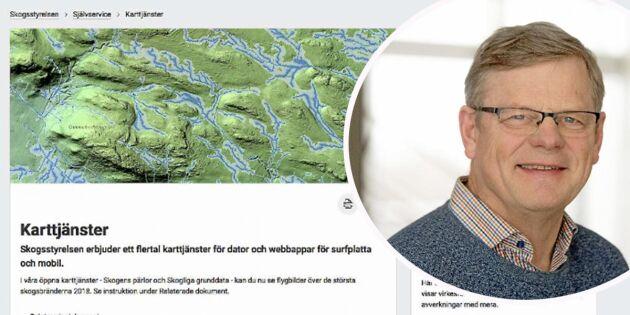 Skogsstyrelsens webbpubliceringar överklagas