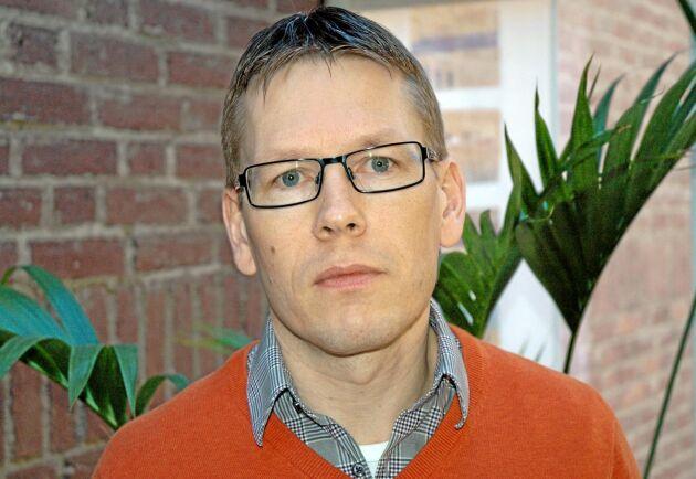 Patrik Alenfelt, chef för jordbrukarstödssektionen på Jordbruksverket.
