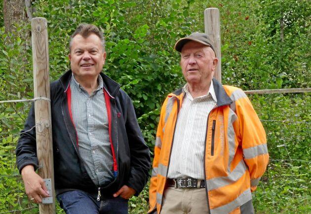 Bengt Thomasson och Leif Olsson.