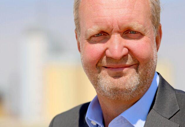 Mikael Jeppsson, spannmålschef på Lantmännen.