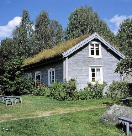 Kristina och Karl Oskars hem, Korpamoen, i Utvandrarna spelades in i närliggande Klasatorpet.