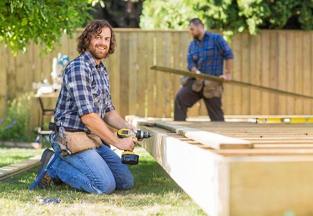De små byggföretagen beräknas gå fortsatt starkt med en lönsamhet på 18,2 procent, enligt rapporten Småföretagens lönsamhet från LRF Konsult.