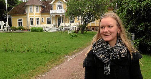 Konstnären Johanna Tysk ska bo i Röstånga i en månad för att både lära och bidra till byn. Foto: Privat.