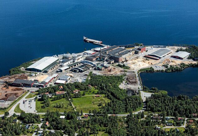 Rundviks sågverk i Nordmaling.