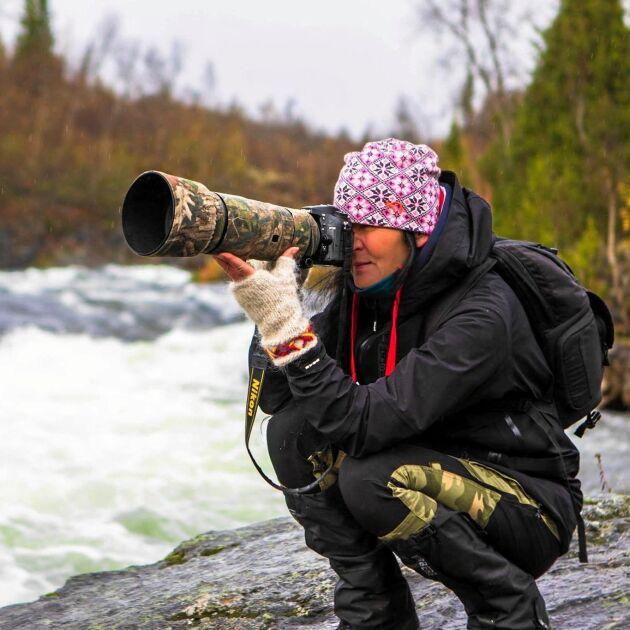 Ewa Nilsson, naturfotograf från Lycksele.