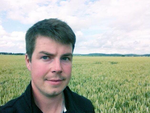 Jakob Eriksson, rådgivare på Hushållningssällskapet i Halland.