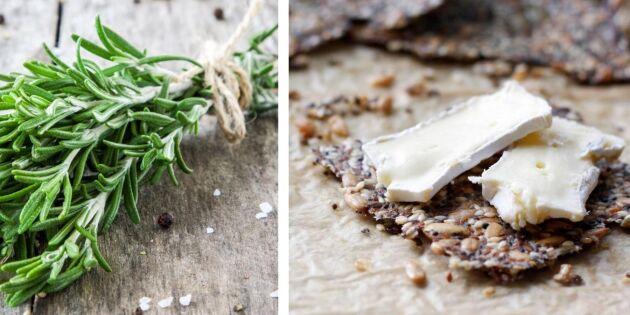 Busenkelt recept: Fröknäcke med smak av trädgårdens örter