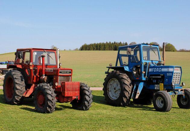 Till sist vann fyrhjulsdriften kampen över den bakhjulsdrivna traktorn. Teknisk utveckling och behov av mer dragkraft var argument som tog hem segern.