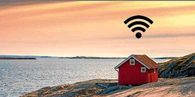 EU vill koppla upp glesbygden – satsar 120 miljoner euro på Wifi
