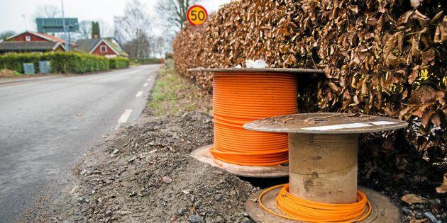 22 bredbandsmiljarder saknas