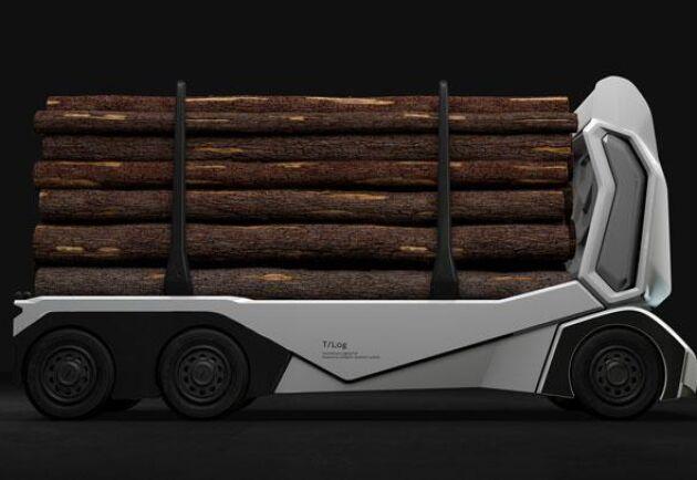 T-log har en lastkapacitet på 16 ton.
