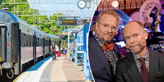 """Hela listan: Alla svenska städer i """"På spåret"""" genom tiderna"""