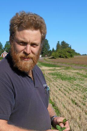 Gustav Steen, lantbrukare nära Mjölby.