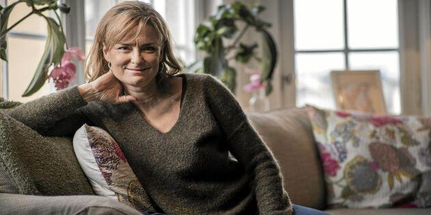 Marie Richardson: I dag är jag glad över uppväxten på landet