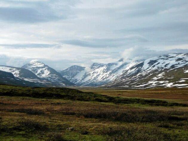 Sarek, Lappland.