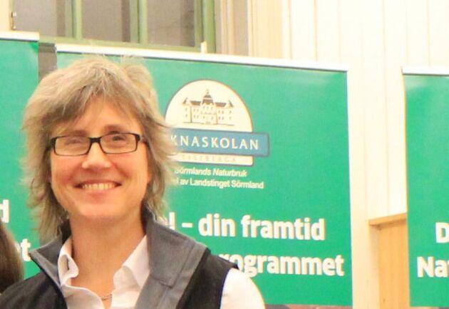 Kirsi Östberg, rektor på Öknaskolan.