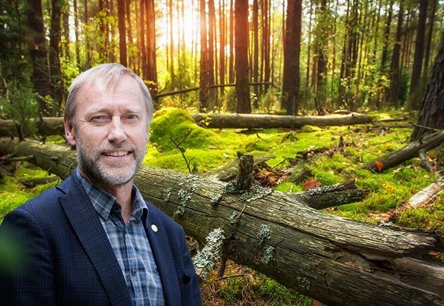 Paul Christiansson, ordförande LRF Skogsägare.