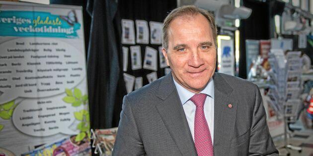 """Stefan Löfven: """"Vi skulle kunna ha bra diskussioner med Centern"""""""