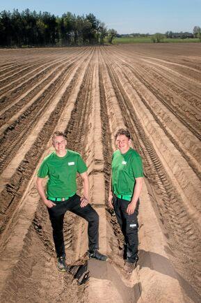 Snabb tillväxt för ekoodlande bröderna Ansén. Deras företag Widegrens Gård har ökat omsättningen från 15 till 62 miljoner kronor de senaste sex åren.