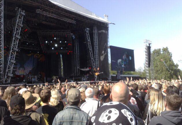 I fjol kom 35 000 besökare till Norje i Blekinge för att lyssna på rockmusik och festa. I år är partyt inställt på grund av Coronapandemin.