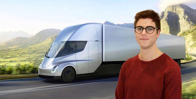 Specifikationerna på Teslas lastbil imponerar, skriver ATL:s teknikreporter Fredrik Stork.
