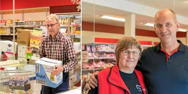 När affären lades ned gav byborna inte upp – startade egen butik
