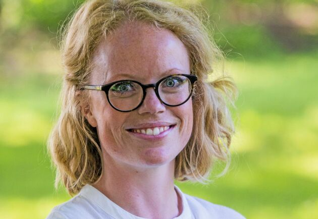 Sandra Lennartsson, utbildningssamordnare på Hvilan Utbildning.
