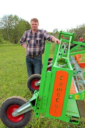 Jonas Carlsson, ekolantbrukare och uppfinnare, nummer 21 på listan.