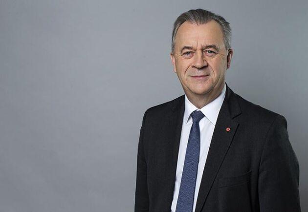 Sven-Erik Bucht (S) slutar som landsbygdsminister.