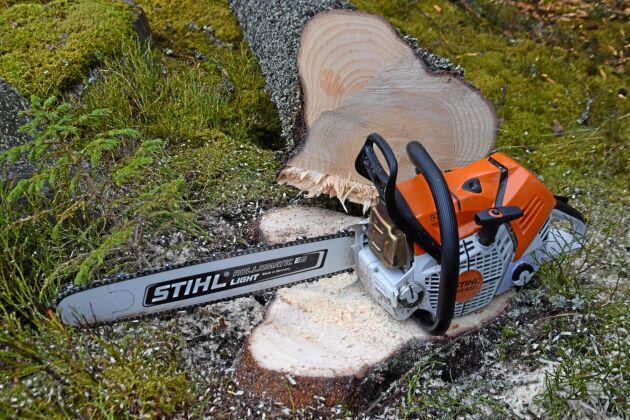 Stihl MS 500I finns snart hos svenska återförsäljare.