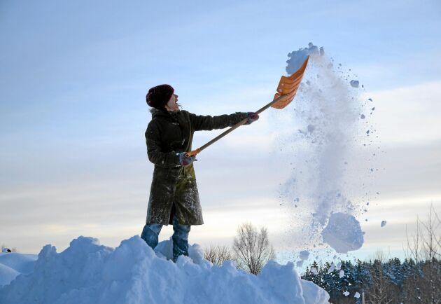 Dags att plocka fram snöskyffeln i dag?