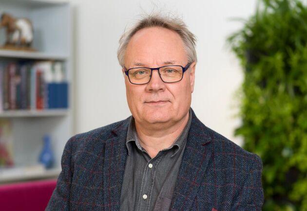 Erik Nordkvist, forskare och specialist inom fodersäkerhet på SVA.