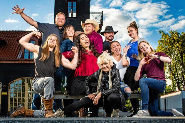 """Serien """"Allt för Sverige"""" spelas in under sommaren och sänds på Svt hösten 2019."""