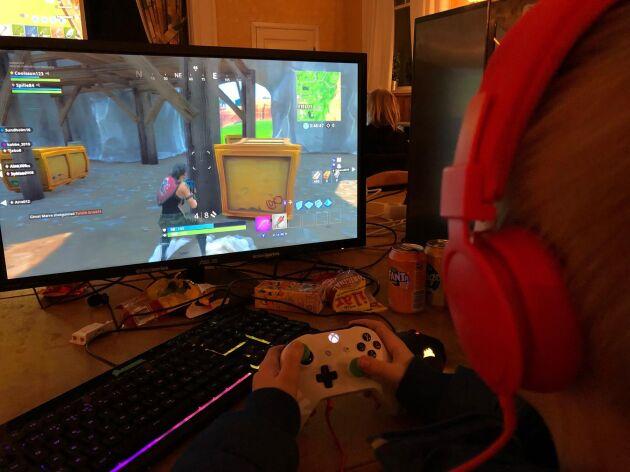 På ett LAN spelar man nätverksspel i grupp.
