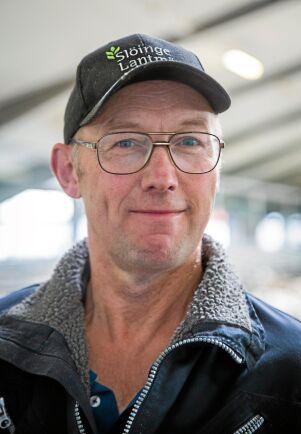 Djurskötaren Bengt Andersson på Berte gård.